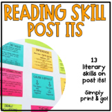 Literary Skill Post It Notes