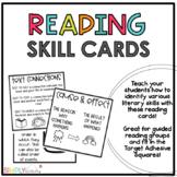 Literary Skills Adhesive Labels