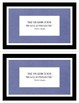 Literary Society Multi-Classroom (Sample Bundle) Generic & Custom Invitations