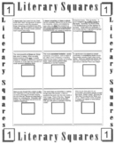 Literary Squares and Figurative Language Booklet