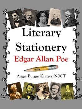 Literary Stationery {Edgar Allan Poe}