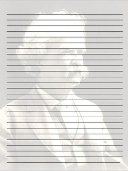 Literary Stationery {Mark Twain FREEBIE}