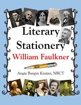 Literary Stationery {William Faulkner}