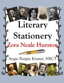 Literary Stationery {Zora Neale Hurston}