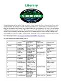 Literary Survivor Game