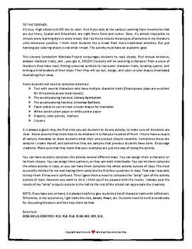 Literary Symbolism Mandala Project