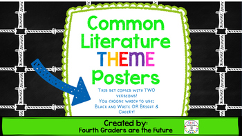 Literary THEME Posters
