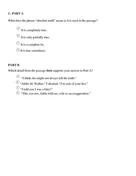 Literary Task Analysis Assessment