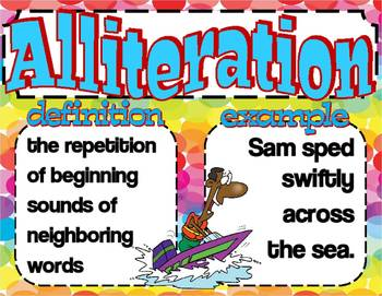 Literary Techniques And Figurative Language Mini Posters Multi Colored