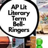 Literary Term Bell-Ringers for AP Lit
