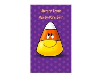 Literary Term Candy Corn Sort
