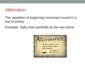 Literary Term Introduction PowerPoint