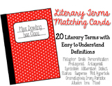 Literary Term Matching Cards