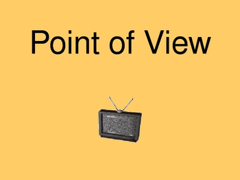 Literary Term - Point of View PowerPoint