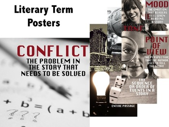 Literary Term Poster Bundle