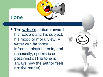Review Literary Term Power Point