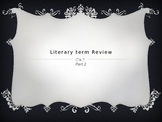 Literary Term Review #2