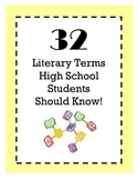 Literary Term Review (32 Terms)