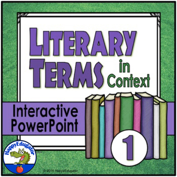 Literary Terms in Context 1 Interactive Test Prep