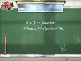 Literary Terms-Are You Smarter Than a Fifth Grader?