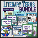 Literary Terms - Story Elements BUNDLE