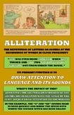 Literary Terms Basic Poster Set