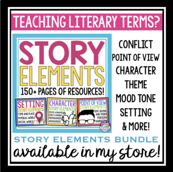 Free Literary Terms Bookmarks By Presto Plans Teachers Pay Teachers