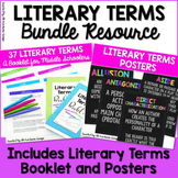 Literary Terms Booklet and Posters BUNDLE