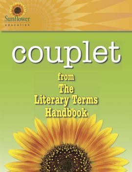 Literary Terms: Couplet