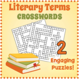 Literary Terms Crosswords