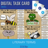 Literary Terms DIGITAL TASK CARD GAME