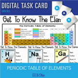 Elements of the Periodic Table DIGITAL TASK CARD Interactive Flashcards
