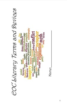 Literary Terms Dictionary