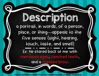 Literary Terms Ds - Fs