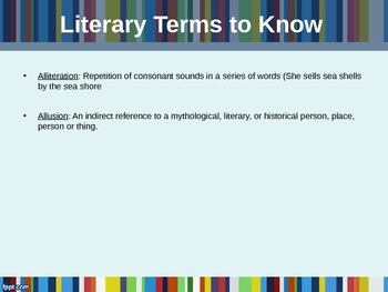 Literary Terms Every Student Should Know