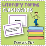 Literary Terms  Flash Cards