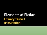 Literary Terms I (Fiction/Plot)