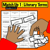Match Up #1 : Literary Terms Game