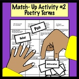 Match Up #2 : Poetry  Terms Game