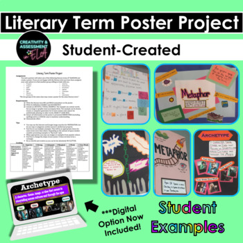 Student Created Literary Term Poster Project