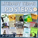 Literary Terms Posters-Movie Themed and Ready to Print!