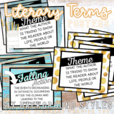 Literary Terms Posters PLUS Bonus Group Direction Posters