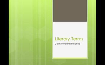 Literary Terms Power Point (Free)
