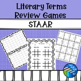 Literary Terms Review Games - STAAR Review