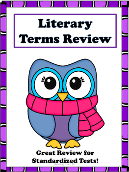 Literary Terms Study Guide & Review