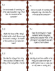 Literary Terms Task Cards