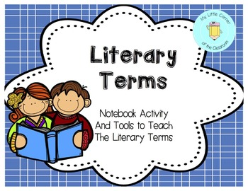 Literary Terms Tools