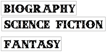 Literary Terms: Word Wall