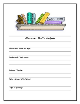 Literary Terms Worksheets & Graphic Organizers Freebie