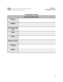 Literary Terms and Analysis Packet